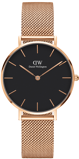 Image ofDaniel Wellington Classic Petite Mel 32mm black watch