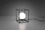 Afbeelding vanReality Gabbia Tafellamp Zwart