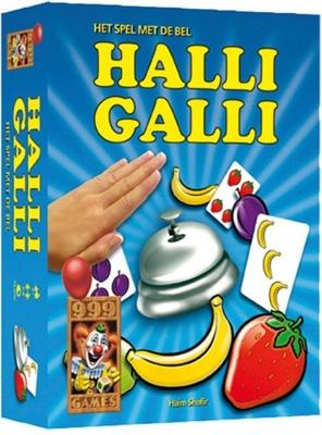 Afbeelding van 999 Games Halli Galli kaartspel