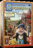 Afbeelding van999 Games spel Carcassonne: Burgemeesters en Abdijen