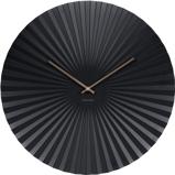 Afbeelding vanKarlsson wandklok Sensu XL steel (Kleur: zwart)