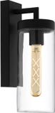 Afbeelding vanEGLO bovolone buitenwandlamp in Industriële stijl, verzinkt staal, glas, E27, 60 W, energie efficiëntie: A++, B: 11 cm, H: 34 cm