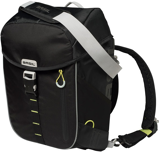 Image ofBasil Miles daypack (Main colour: black/yellow green)