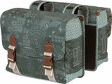 ObrázekBasil Bohème dvojitá taška na kolo (Barva: mechová zeleň)