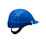 Afbeelding van3M Peltor G2000DUV BB Veiligheidshelm met pinlock Blauw Leren sweatband