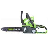Afbeelding vanGreenworks G40CS30 Draadloze kettingzaag zonder lader en accu G max 40 Volt 30cm