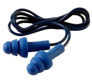 Afbeelding van 3M E A R TR 01 000 Tracer herbruikbare oordoppen met koord 32dB (50pr)