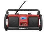 Afbeelding vanPerfectPro WORKMAN 2 Bouwradio FM RDS aux in werkt op netstroom & batterij