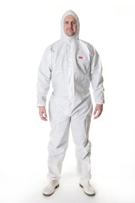 Afbeelding van 3m beschermende overall 4505 , wit, s