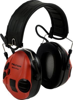 Afbeelding van 3M Peltor MT16H210F 478 RD SportTac Shooting Gehoorbeschermer met opvouwbare hoofdband en J22