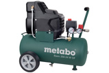 Afbeelding vanMetabo Basic 250 24 W OF Compressor 220 l/min Olievrij 601532000