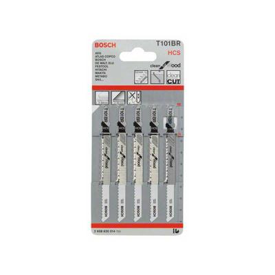 Afbeelding van Bosch 2608630014 / T 101 BR HCS Decoupeerzaagblad Clean Hout (5st)