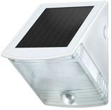 Afbeelding vanBrennenstuhl led zonnecellamp voor wandmontage sol 04 plus ip44 met infrarood bewegingsmelder 2xled 0,5w 85lm