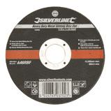 Afbeelding vanSilverline Heavy Duty' metaal snijschijf, plat 115 x 1,2 22,23 mm