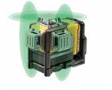 Afbeelding vanDeWalt DCE089D1G 10.8V Li Ion accu zelfnivellerende kruislijnlaser set (1x 2.0Ah accu) in koffer 3 lijnen 30m groen
