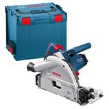 Afbeelding vanBosch Blauw GKT 55 GCE invalzaag 1400 Watt met L Boxx 0601675001