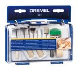 Afbeelding vanDremel 684JA 20 Delige accessoires set voor reinigen en polijsten