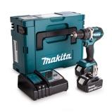 Afbeelding vanMakita DHP484RTJ 18V Li Ion accu klopboor /schroefmachine set (2x 5.0Ah accu) in Mbox koolborstelloos