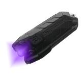 Afbeelding vanNitecore Tube UV Sleutelhangerlamp oplaadbaar met ultraviolet licht zaklamp