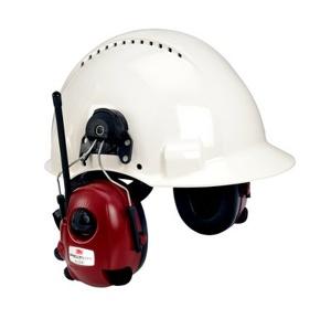 Afbeelding van 3M Peltor M2RX7P3E2 01 Alert Gehoorbeschermer met helmbevestiging FM radio 3.5mm jack plug