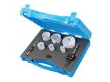 Afbeelding vanSilverline 595759 9 Delige Bi metalen Gatenzaag set in koffer 19 / 22 29 38 44 57 mm