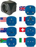 Afbeelding vanBrennenstuhl 1508160 Wereldreisstekker met 7 stekkers voor ruim 150 landen | Reisstekkerset