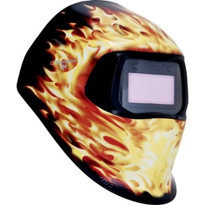 Afbeelding van 3M 751220 Speedglas 100 Laskap Blaze met lasfilter 100V ADF kleur 8 12