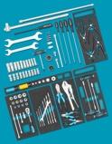 Afbeelding vanHazet 0 2500 163/86 86 delige Gereedschapset voor AUDI