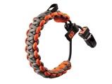 Afbeelding vanGerber paracord armband Bear Grylls Survival Bracelet Grijs Oranje