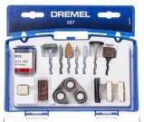 Afbeelding vanDremel 687JA 52 Delige Multifunctionele accessoires set voor Multitool