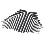 Afbeelding vanSilverline 25 Delige Lange Zeskantsleutel Set (Metrisch En Imperiaal)