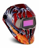 Afbeelding van3M 752420 Speedglas 100 Laskap Razor Dragon met lasfilter 100V ADF kleur 8 12