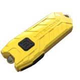 Afbeelding vanNitecore Tube Sleutelhangerlamp oplaadbaar geel zaklamp