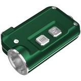 Afbeelding vanNitecore Tini Sleutelhangerlamp oplaadbaar groen zaklamp