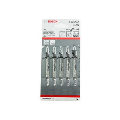 Afbeelding van Bosch 2608630031 / T 101 AO HCS Decoupeerzaagblad Clean - Hout (5st)