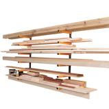 Afbeelding vanWoodrack 6 Laags Planken Opbergbeugels, opbergrek