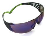 Afbeelding van3M SF408AS EU Secure Fit 400 Veiligheidsbril Polycarbonaat Blauw Weerspiegelend