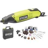 Afbeelding vanRyobi EHT150V Multitool + 115 delige accessoireset in koffer 150W
