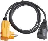 Afbeelding vanBrennenstuhl 1160370 Adapterkabel IP44 van 2 meter lang met stopcontact