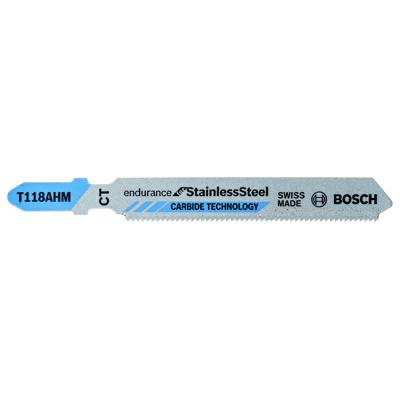 Afbeelding van Bosch 2608630663 / T 118 AHM HM Decoupeerzaagblad Special Inox (3st)