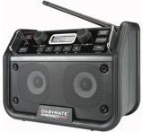 Afbeelding vanPerfectPro DAB+MATE Bouwradio FM RDS DAB+ bluetooth aux in werkt op netstroom & batterij (batterijen inbegrepen)