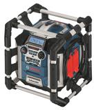 Afbeelding vanBosch GML 50 PowerBox 360 Deluxe 14.4 18V Li Ion accu bouwradio met laadfunctie werkt op netstroom &