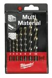 Afbeelding vanMilwaukee 4932352335 7 Delige multifunctionele boren in kunststof cassette