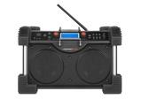 Afbeelding vanPerfectPro ROCKHART BT Bouwradio FM RDS DAB+ bluetooth aux in (2x) werkt op netstroom & batterij (batterijen inbegrepen)