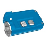 Afbeelding vanNitecore Tini Sleutelhangerlamp Oplaadbaar Blauw zaklamp