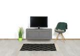 Afbeelding vanBetonlook TV meubel Barco met deuren