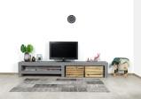 Afbeelding vanBetonlook TV meubel Dulce met middensteun