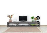 Afbeelding vanIndustriële betonlook TV meubel Caitlin
