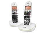 Afbeelding vanDoro PhoneEasy 100w Duo wit Dect telefoon