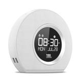 Afbeelding vanJBL Horizon Bluetooth Wekkerradio 16 x 18,3 cm Wit